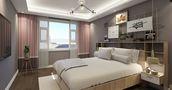 110平米三地中海风格卧室装修效果图