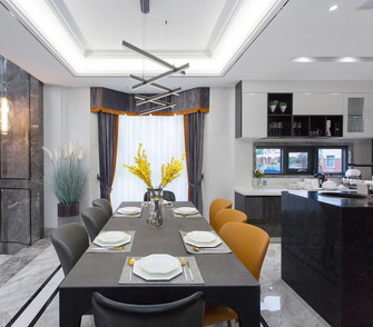 140平米别墅其他风格餐厅图片