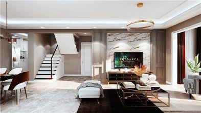 140平米四室两厅美式风格楼梯间设计图