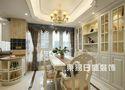 130平米四室两厅欧式风格书房欣赏图