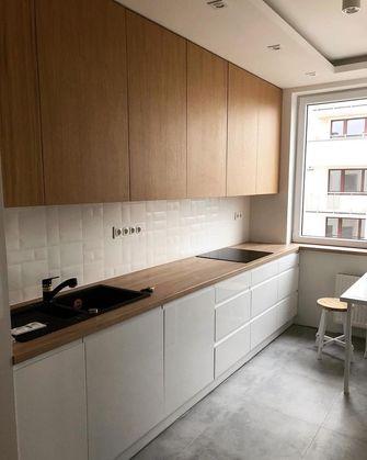 140平米三室一厅美式风格厨房图片