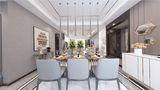 130平米三欧式风格餐厅装修效果图