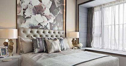 120平米现代简约风格卧室设计图