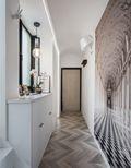 140平米三室两厅东南亚风格走廊装修图片大全