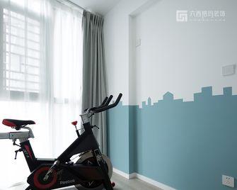 80平米三室两厅北欧风格健身室图片大全