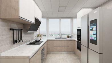 130平米三室两厅现代简约风格厨房效果图