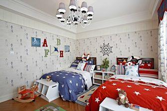 130平米复式地中海风格卧室图片大全