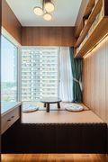 80平米中式风格阁楼装修图片大全