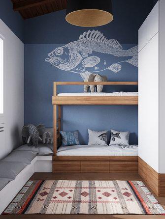 110平米复式混搭风格卧室图片大全