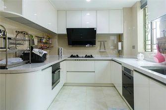 130平米三室三厅新古典风格厨房图片大全
