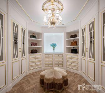 140平米别墅法式风格衣帽间图片