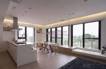 110平米三室两厅日式风格厨房效果图