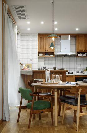 140平米三室两厅北欧风格厨房装修效果图