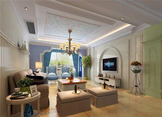 140平米四地中海风格客厅图片