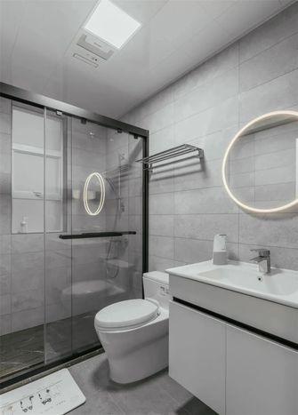 100平米三室一厅现代简约风格卫生间设计图