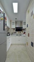 100平米三宜家风格厨房图片