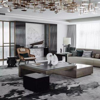 120平米复式英伦风格客厅装修案例
