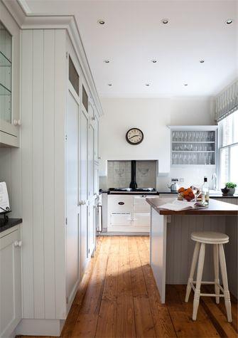 80平米法式风格厨房图