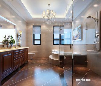 140平米四室三厅中式风格卫生间欣赏图