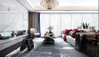 140平米三室一厅新古典风格客厅装修图片大全