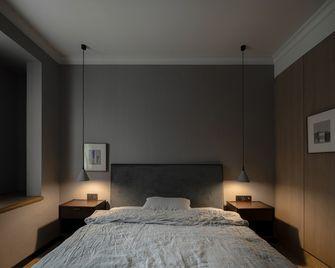 130平米三室一厅现代简约风格卧室图片大全