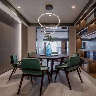 140平米四室四厅北欧风格餐厅图片
