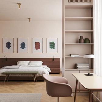 120平米法式风格卧室装修图片大全