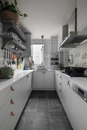 110平米三室两厅北欧风格厨房装修效果图