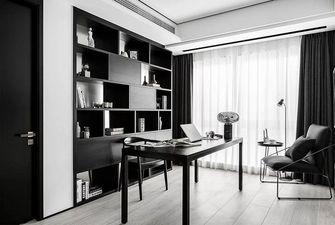 120平米三现代简约风格书房装修效果图
