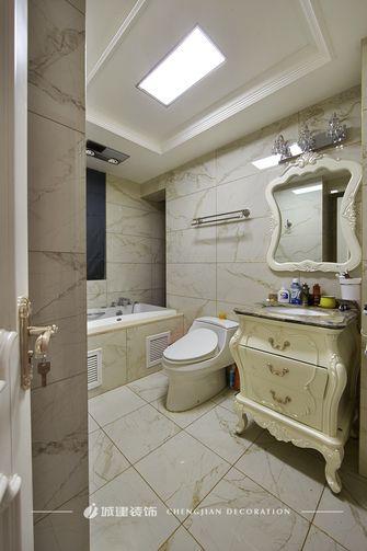 120平米三室两厅新古典风格卫生间欣赏图