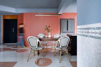 120平米三室两厅新古典风格餐厅装修图片大全