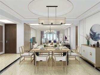 120平米三室两厅中式风格餐厅图