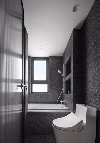 120平米三室两厅现代简约风格卫生间图片