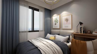 80平米三北欧风格卧室图片