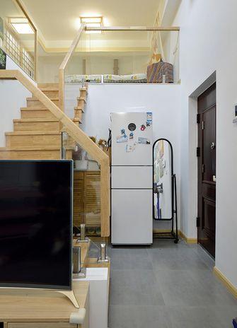 5-10万50平米复式日式风格楼梯间图