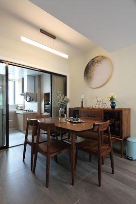 120平米三室兩廳現代簡約風格餐廳欣賞圖