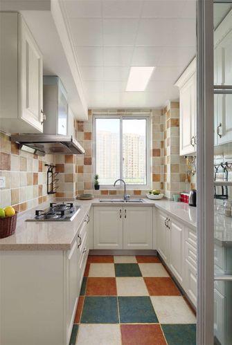 90平米三室一厅地中海风格厨房装修效果图
