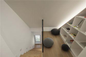90平米三室一厅日式风格楼梯间图片