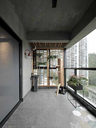 130平米三室两厅混搭风格书房图