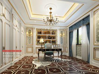 140平米四室四厅法式风格书房装修案例