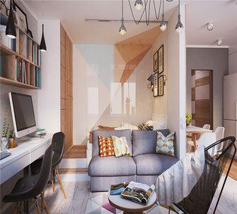 50平米一室一厅北欧风格客厅效果图