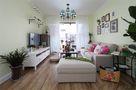 110平米三室三厅地中海风格客厅装修效果图