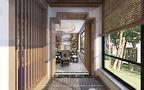120平米三室一厅新古典风格阳台图