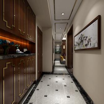 130平米三室两厅中式风格玄关装修效果图