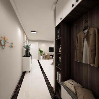 70平米三室两厅现代简约风格玄关图片
