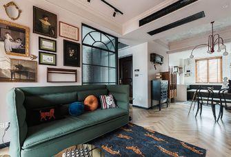 80平米法式风格客厅图