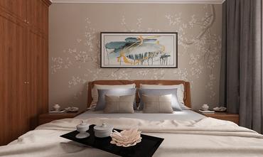 70平米中式风格卧室装修案例