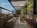 140平米别墅英伦风格阳台图片