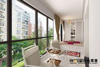 140平米四室两厅美式风格阳台装修图片大全