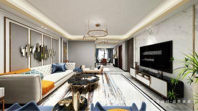 140平米三新古典风格客厅图